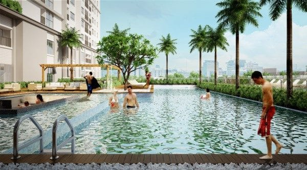 Cho thue Melody Residence Au Co 16